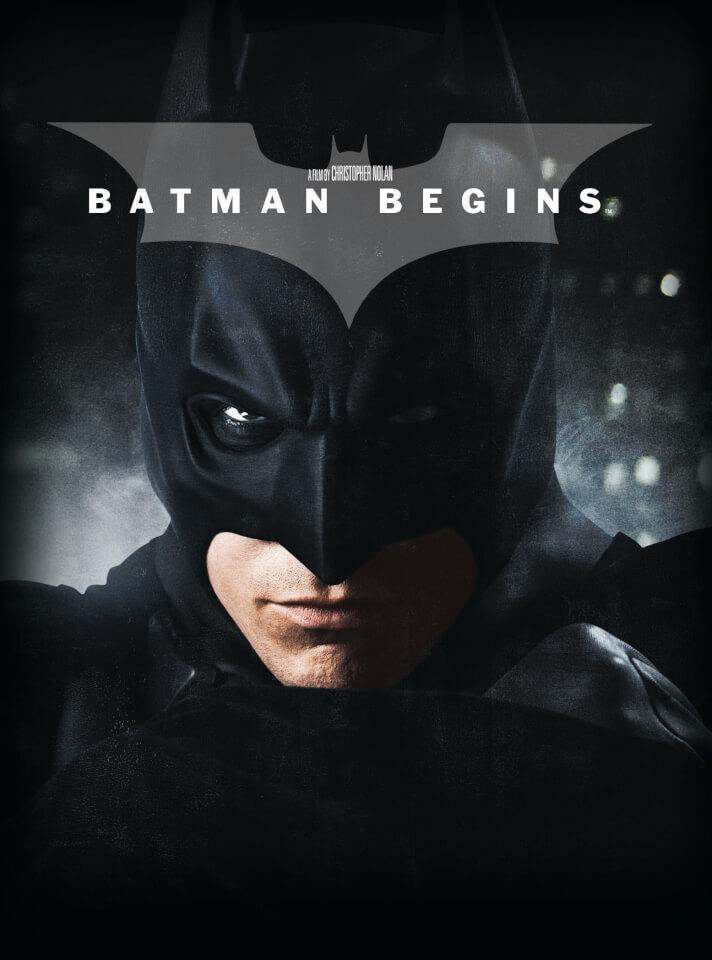 Batman Begins 4k Ultra Hd Limited Edition Film Book Blu