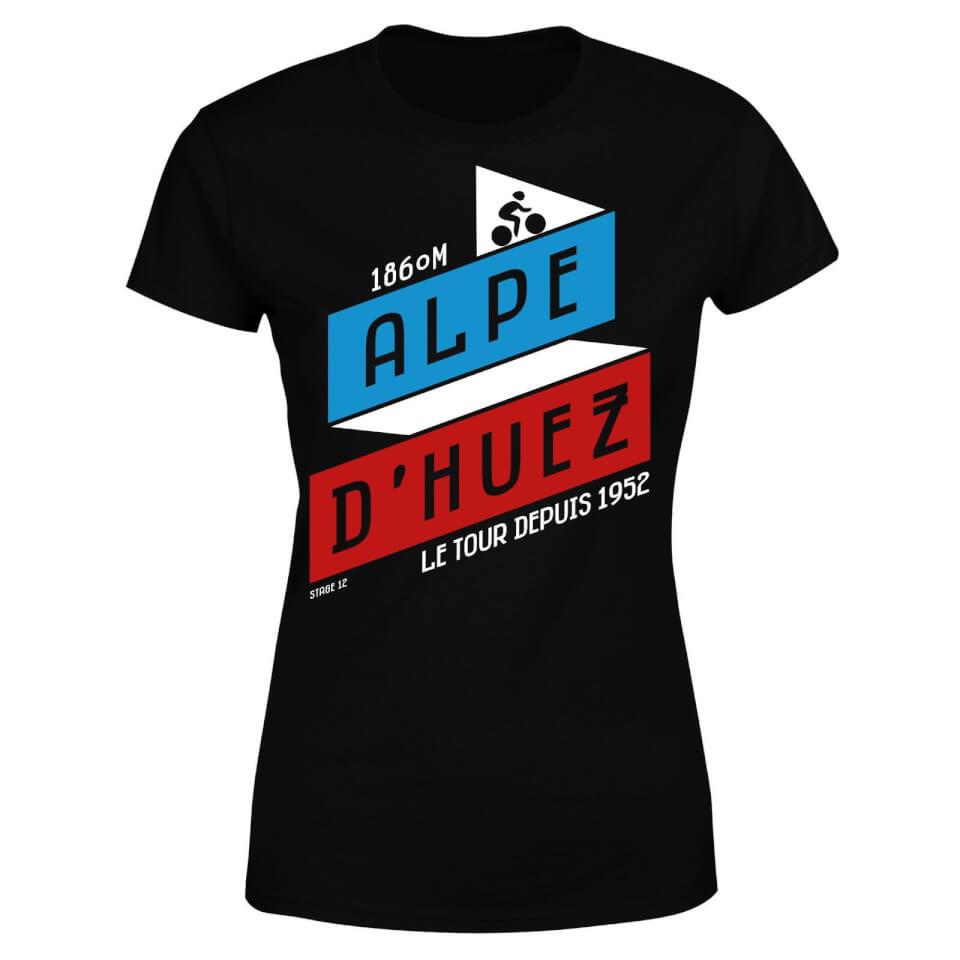 ALPE D'HUEZ Women's T-Shirt - Black | Jerseys