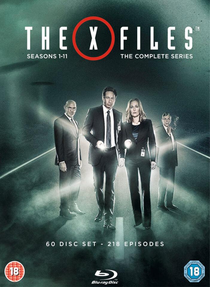 The X Files Complete Seasons 1 11 Blu Ray Zavvi