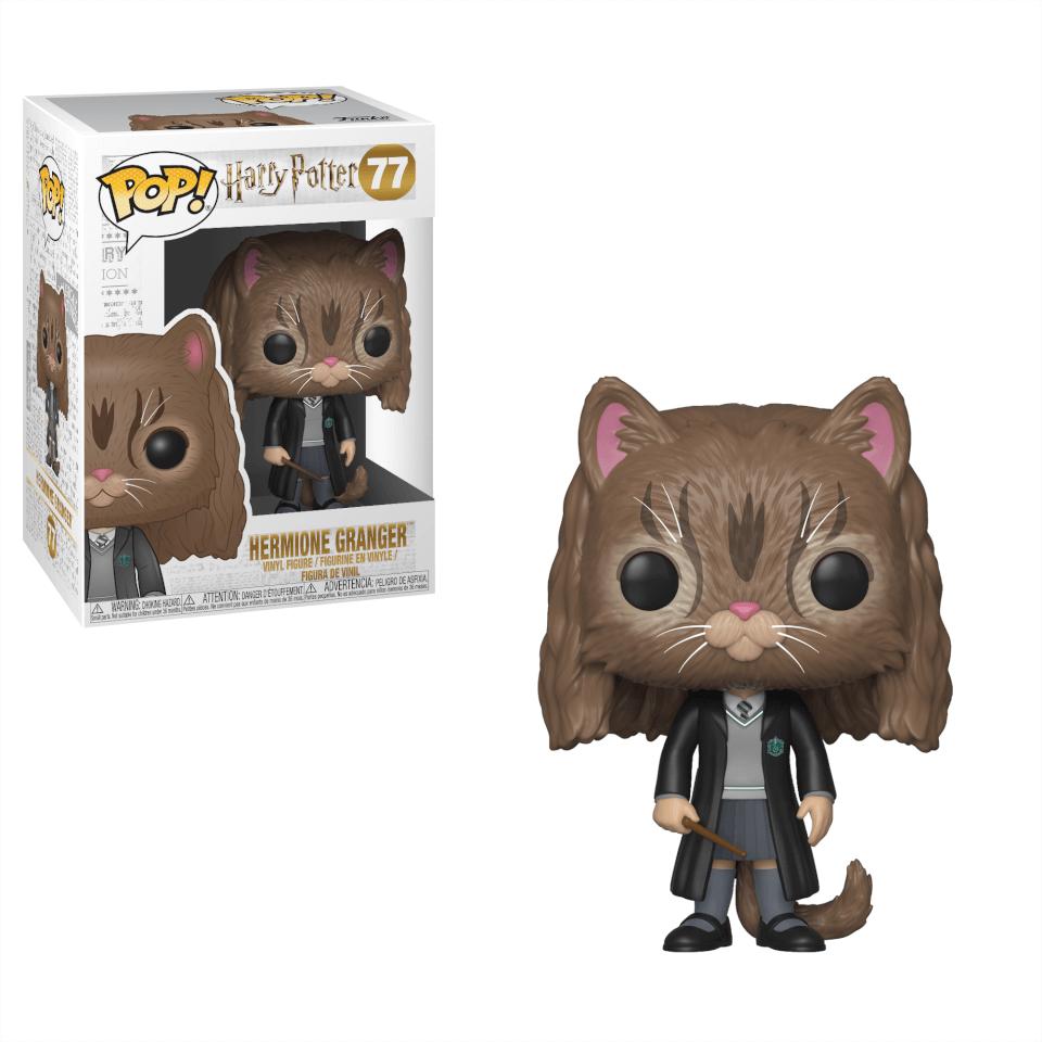 Figurine Pop Hermione En Chatte Harry Potter Pop In A