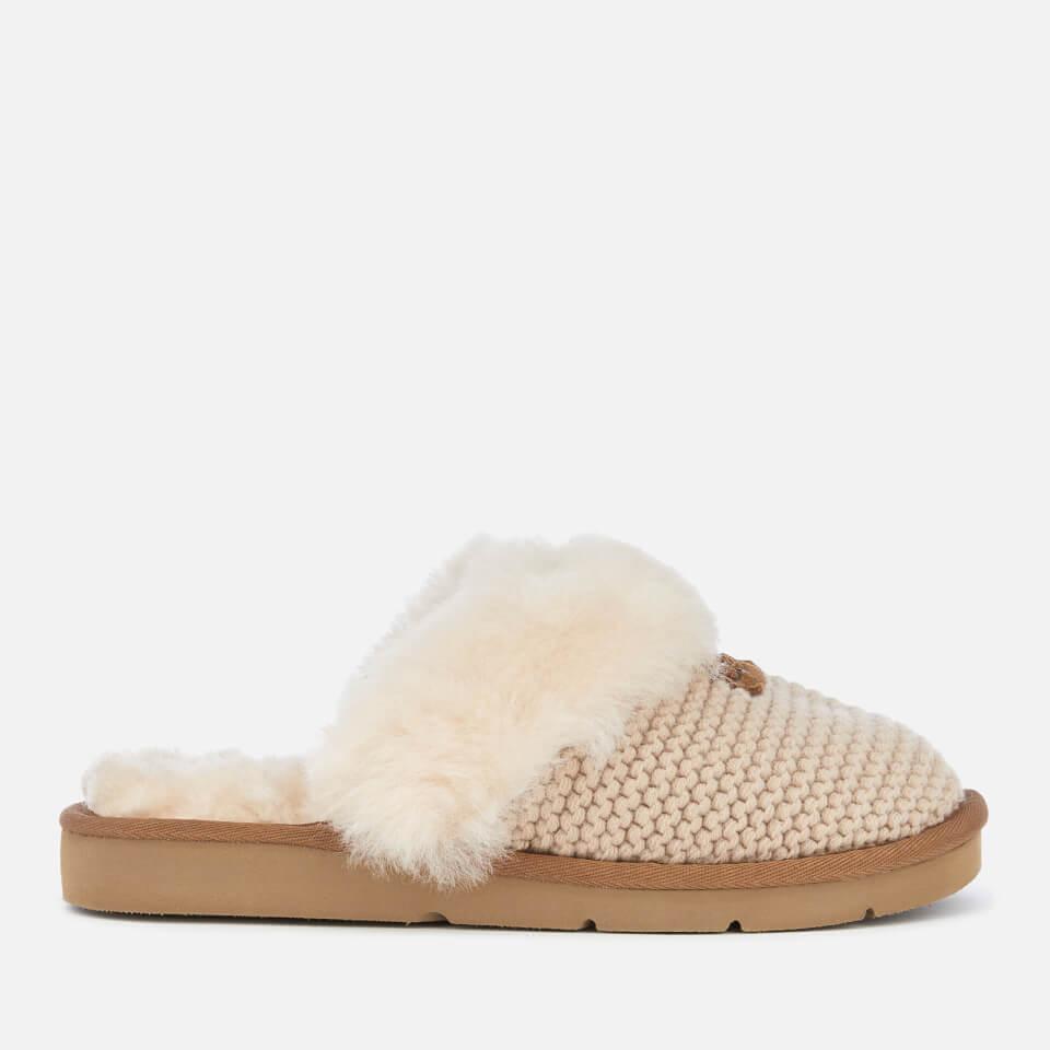 f109971074 UGG Women s Cozy Knit Slippers - Cream Womens Footwear