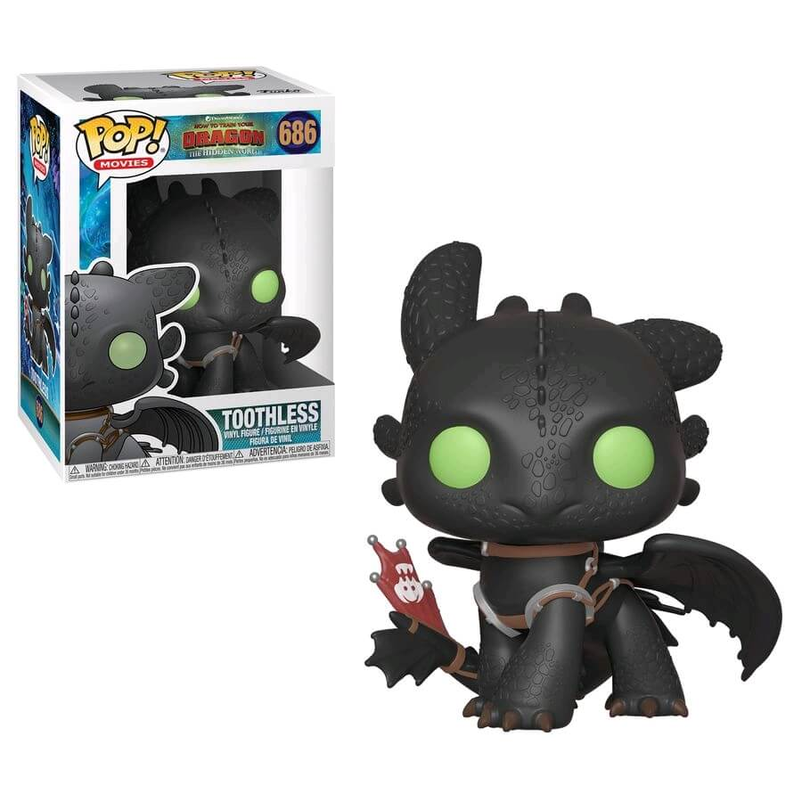 2fed5f68625 How to Train your Dragon 3 Toothless Pop! Vinyl Figure. Description