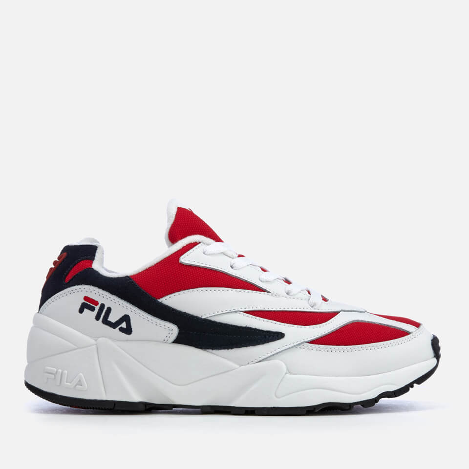 Fila Men S Venum Low Trainers White Fila Navy Fila Red