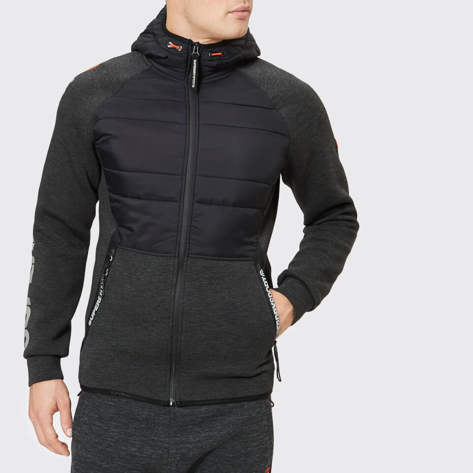 Superdry Sport Men's Gym Tech Stretch Hybrid Jacket