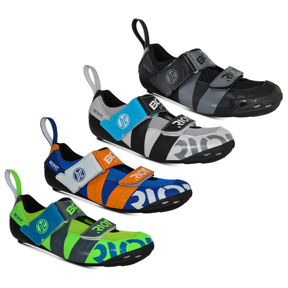 Bont Riot TR+ Road Shoes | Shoes and overlays