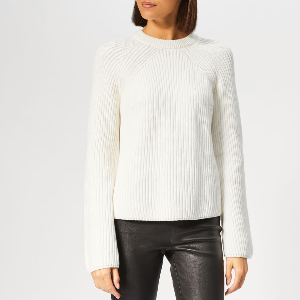 McQ Alexander McQueen Women s Lace Up Knitted Jumper - Ivory - Free UK  Delivery over £50 6d1e01697
