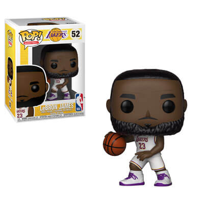 online retailer 7be98 fee2b NBA Lakers Lebron James Pop! Vinyl Figure