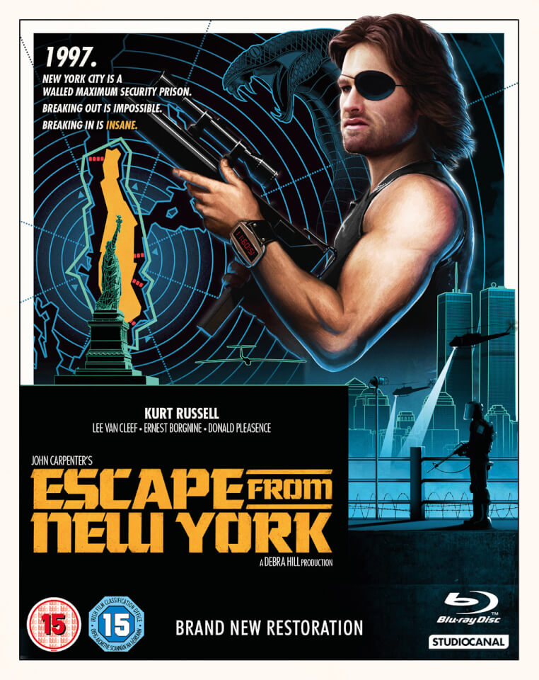 Kids Movie Posters Escape From New York B...