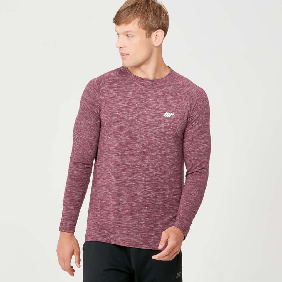 Kjøp Performance Langermet T Skjorte til Herrer| Svart Marl