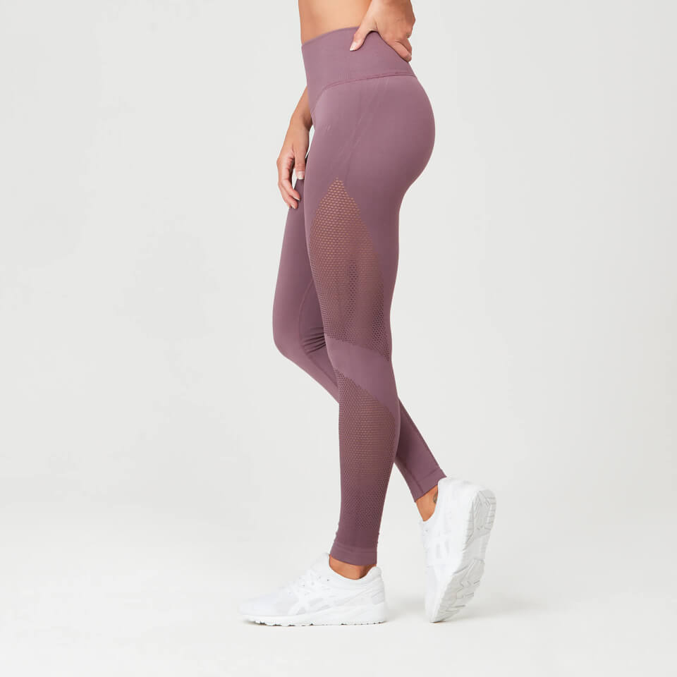 b53b58a8971c2 Buy Women's Shape Seamless Gym Leggings | Mauve | MYPROTEIN™