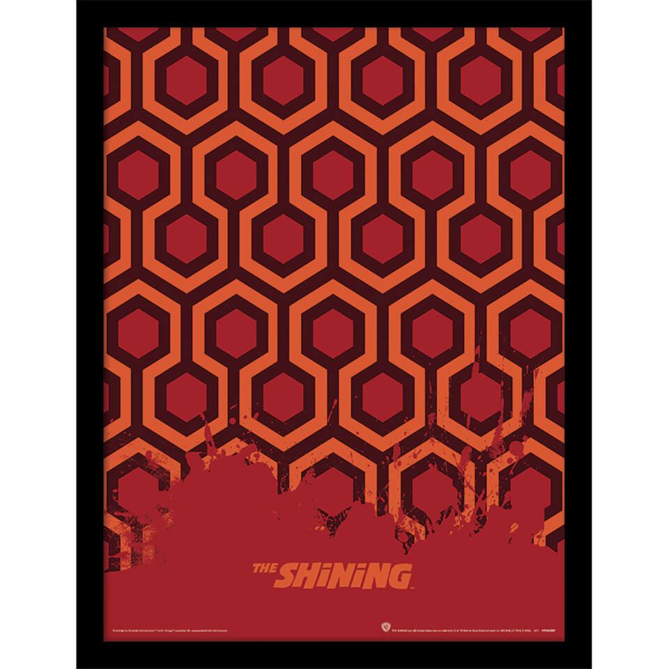 The Shining Carpet Framed 30 X 40cm Print Merchandise