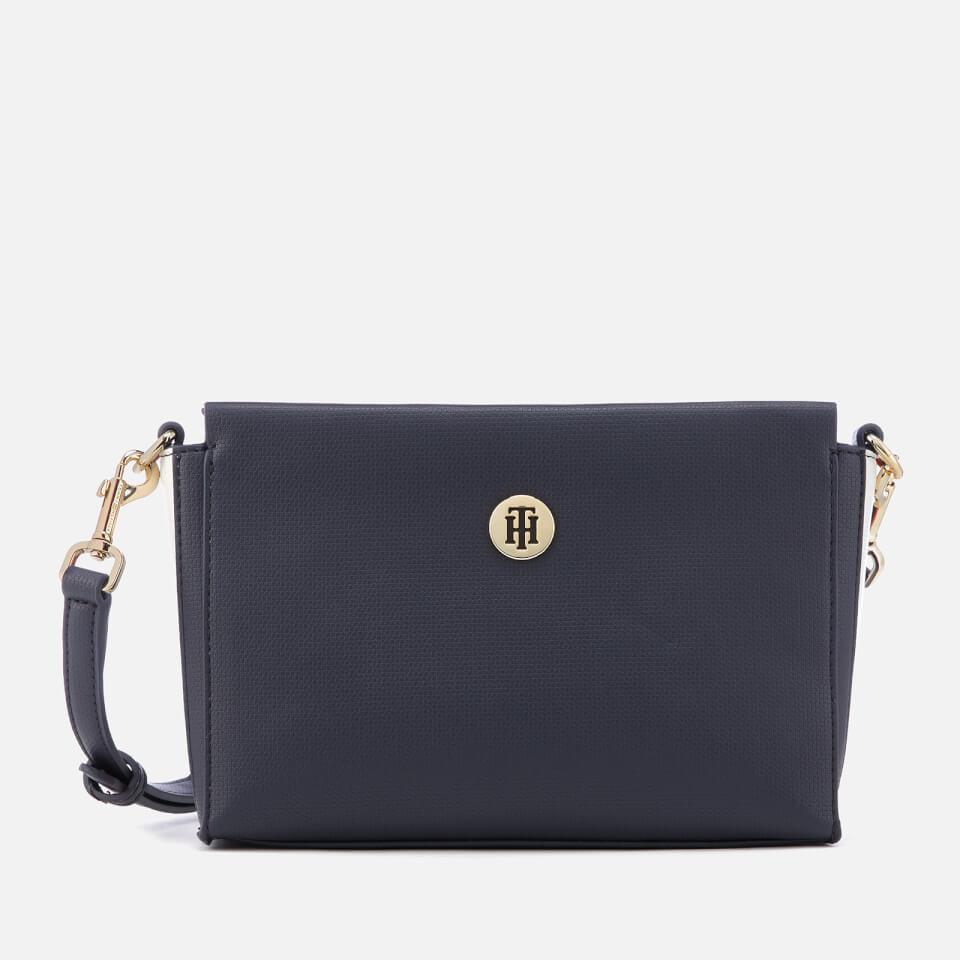 5eb71b6f0fbe Tommy Hilfiger Women s Effortless Saffiano Crossover Bag - Corporate
