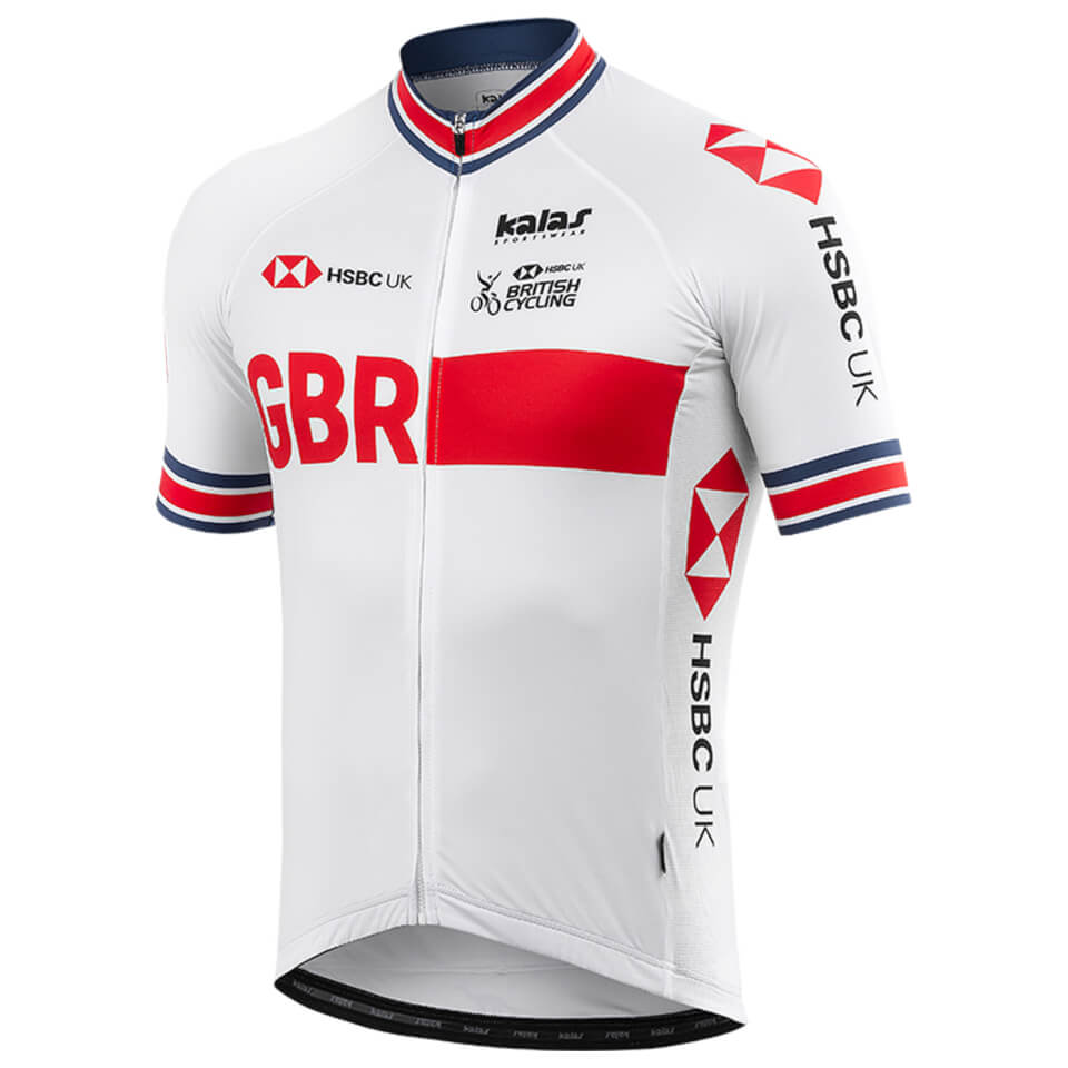 Kalas GBR Authentic Jersey - White   Jerseys