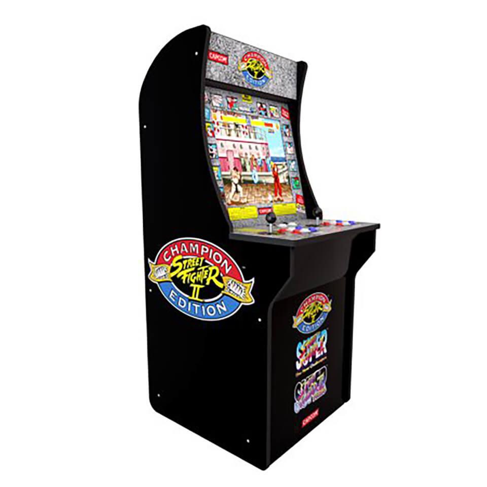 Sambro Arcade 1up Street Fighter Ii Champion Edition At