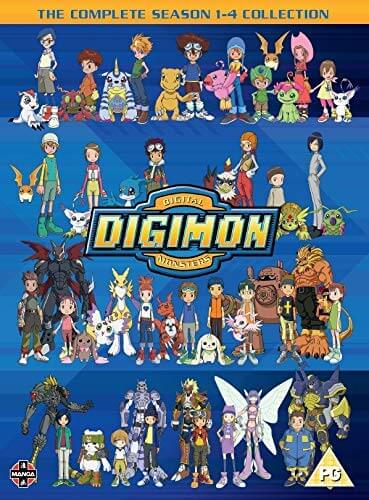 Digimon: Digital Monsters Season 1-4 DVD | Zavvi