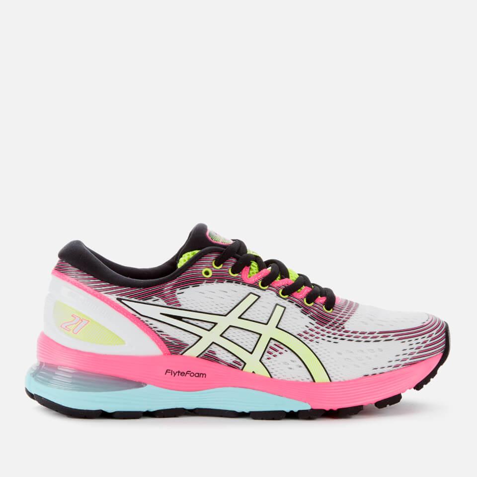 Asics Women's Running Gel Nimbus 21 SP Trainers CreamWhite