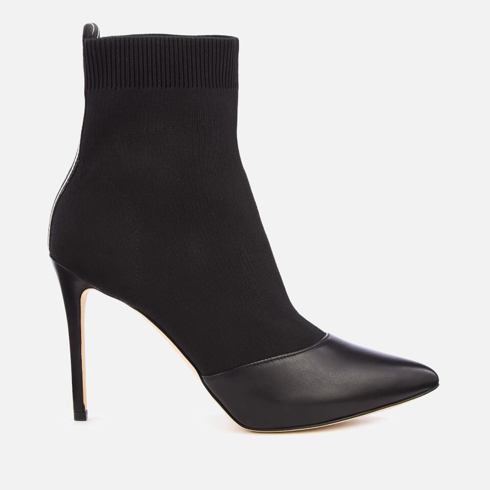 523d4c13e937 MICHAEL MICHAEL KORS Women s Vicky Knitted Heeled Shoe Boots - Black Womens  Footwear