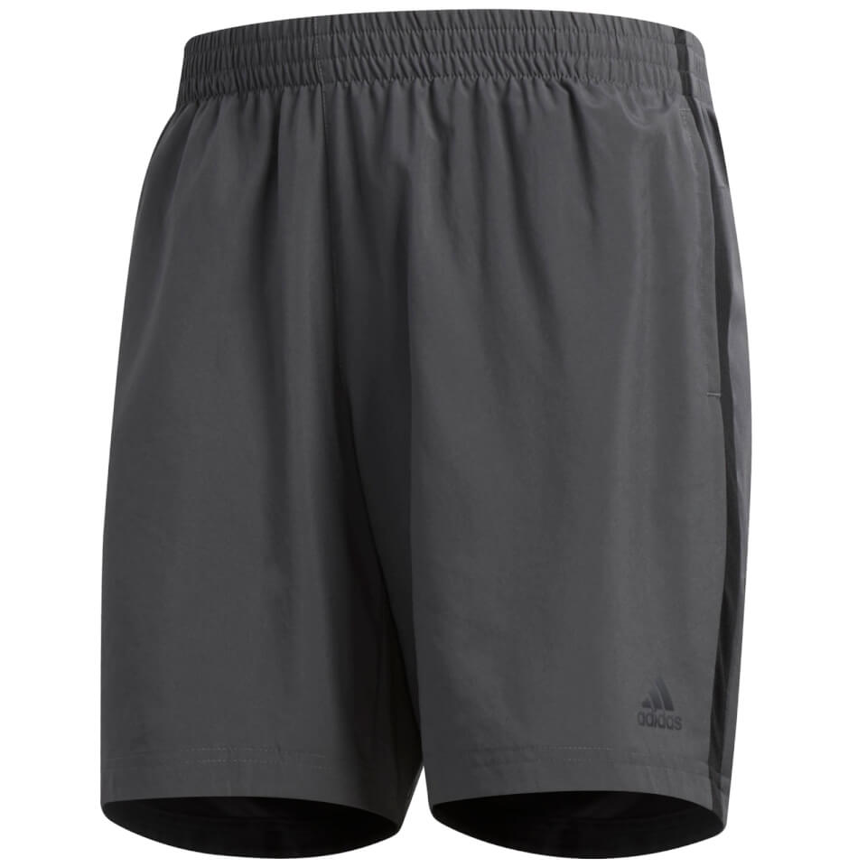 adidas Men's Own the Run Shorts - Grey | Trousers