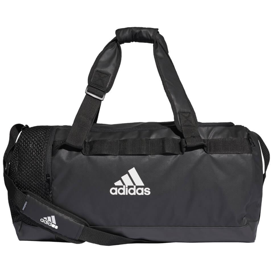 adidas Convertible Training Duffle Bag - Black | Travel bags