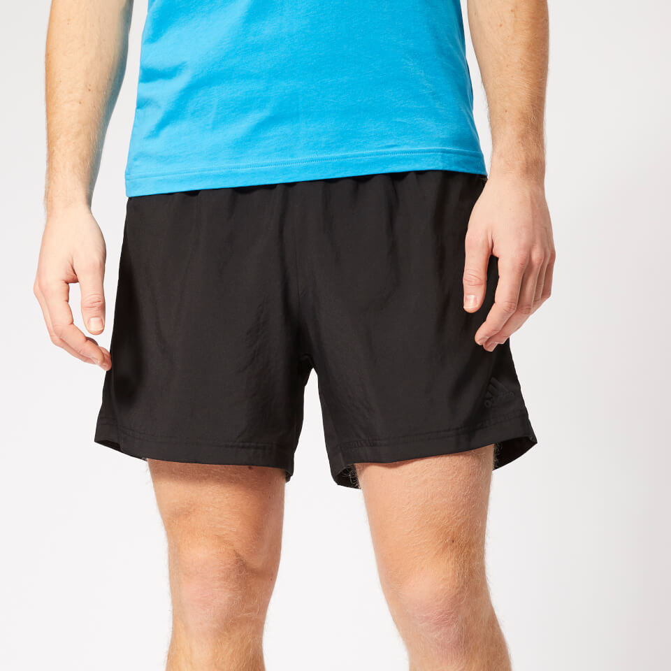 adidas Men's Own the Run 2 in 1 5 Inch Shorts - Black | Trousers