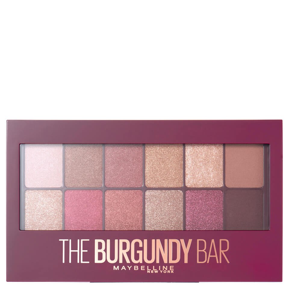 3cb6f4405ce Maybelline The Burgundy Bar Eyeshadow Palette (Worth £11.99) | Free  Shipping | Lookfantastic