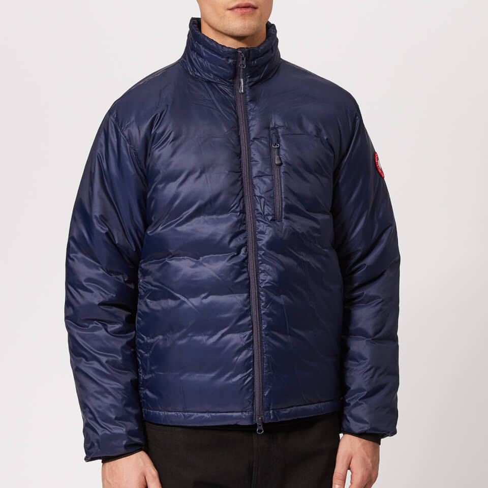 Canada Goose Men s Lodge Jacket - Blue Black - Free UK Delivery over £50 032d609f3