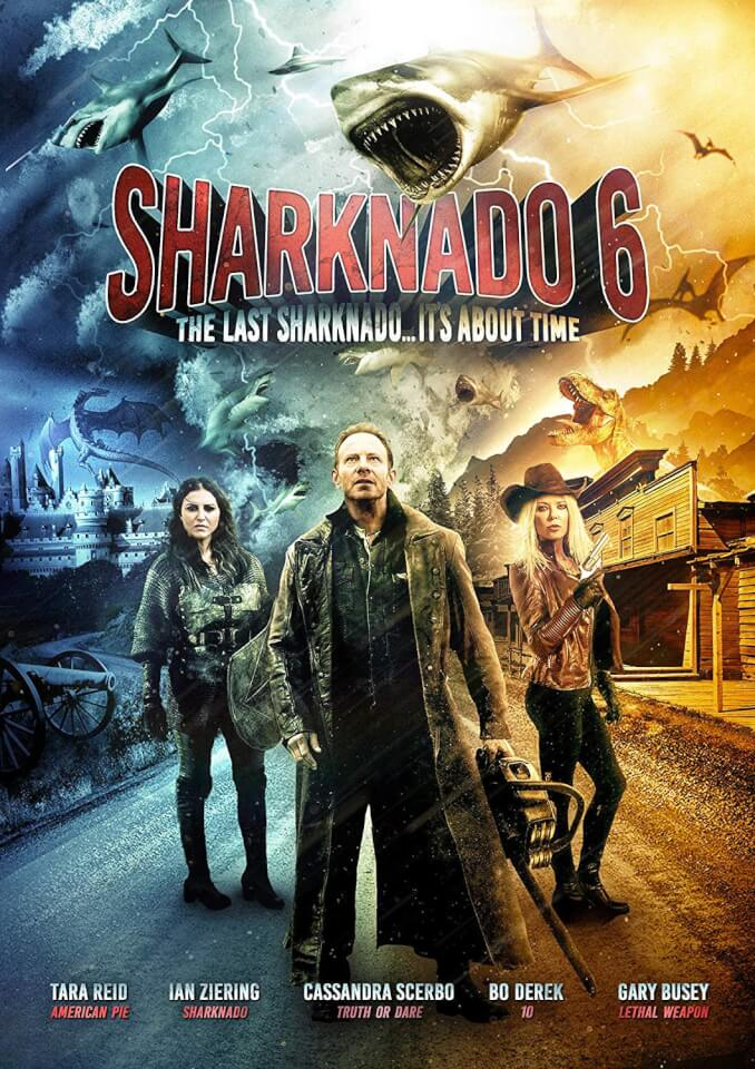 Sharknado 6 The Last Sharknado Dvd Zavvi