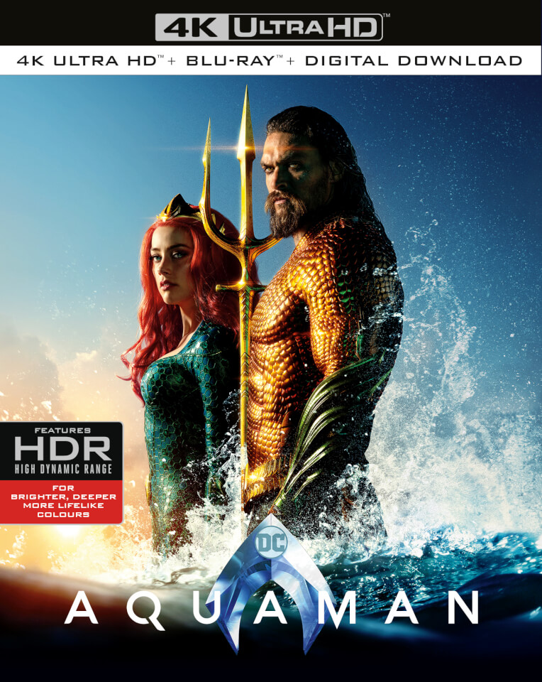 aquaman 4k ultra hd blu ray zavvi. Black Bedroom Furniture Sets. Home Design Ideas
