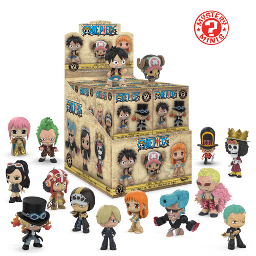 Figurine Mystery Mini One Piece Pop In A Box France