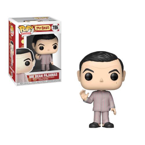 Mr Bean In Pyjamas Pop Vinyl Figure Pop In A Box Us