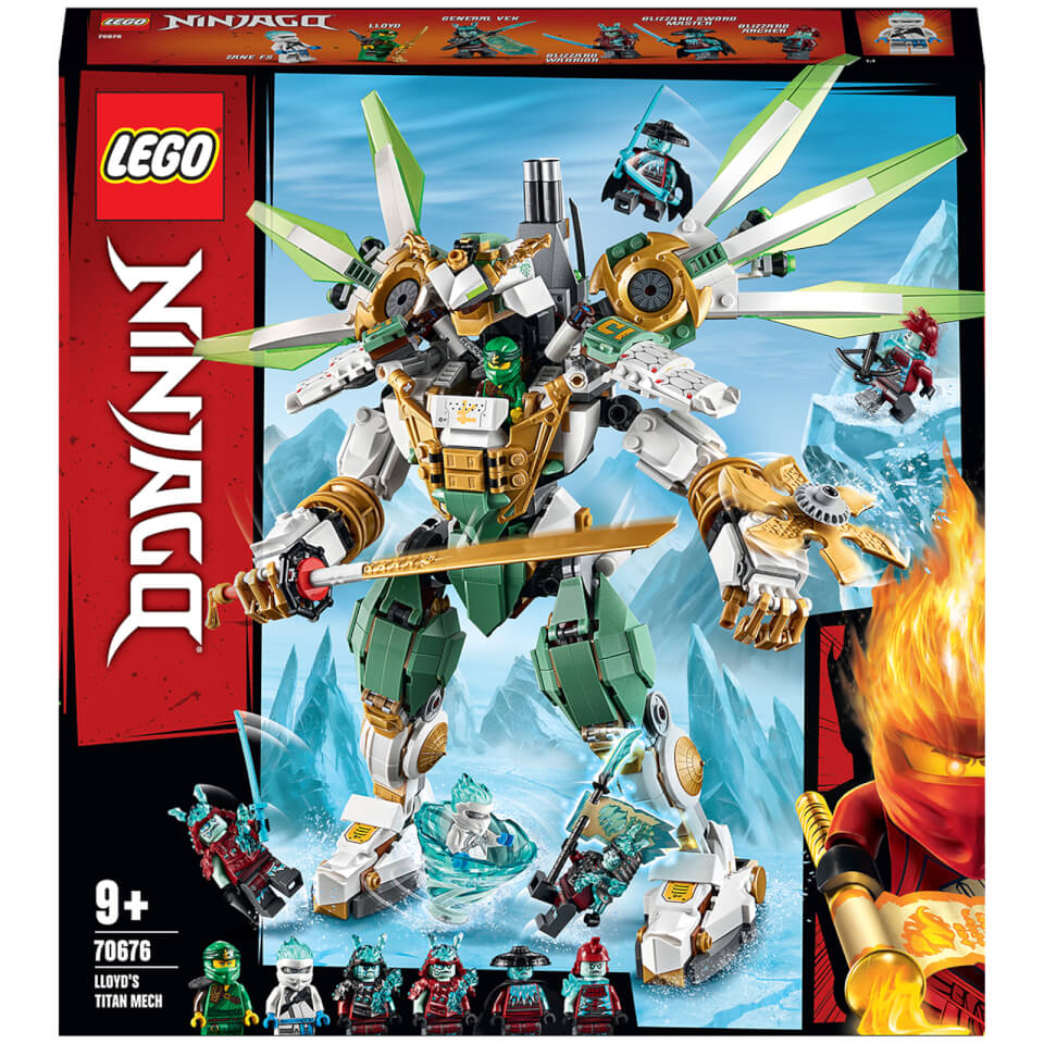 LEGO NINJAGO: Lloyd's Titan Mech Action Figure (70676 ...
