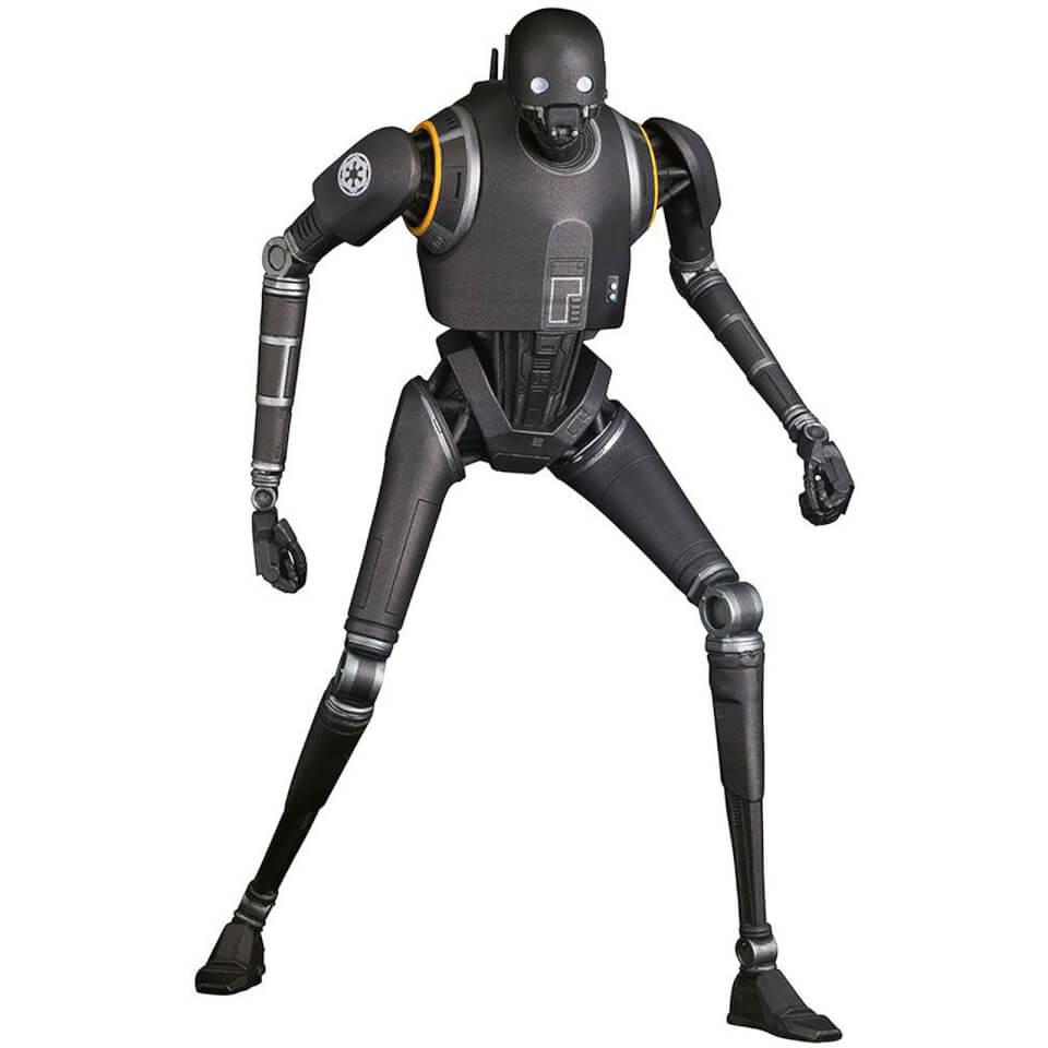 Star Wars Rogue One Movie Droid Machine K-2SO Black T-Shirt
