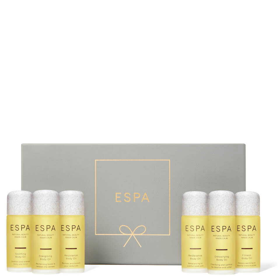 Espa Christmas Body Oil Collection by Espa
