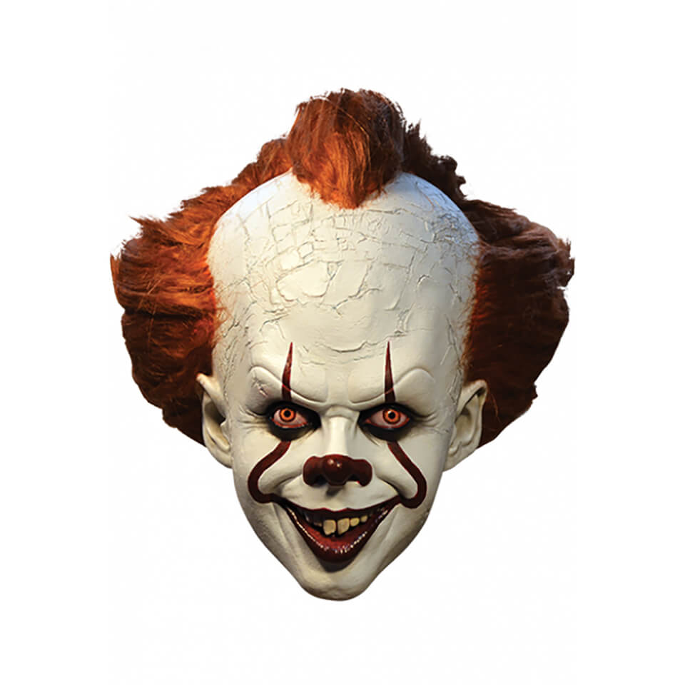 Trick Or Treat It 2017 Pennywise Mask Merchandise Zavvi