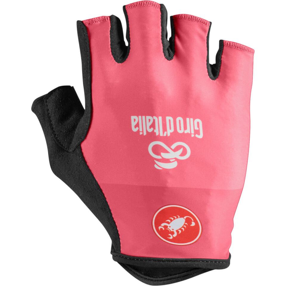 Castelli Giro D'Italia Gloves - Rosa Giro   Handsker