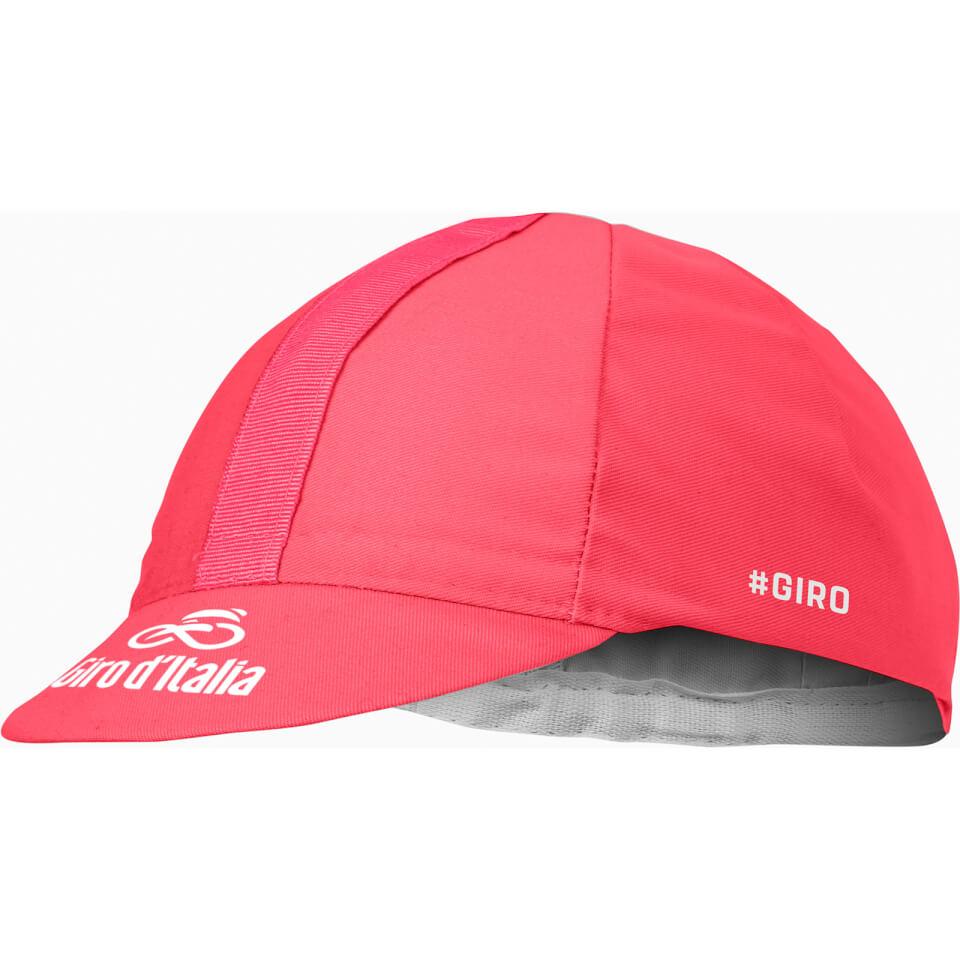 Castelli Giro D'Italia Cap - Rosa Giro   Hovedbeklædning