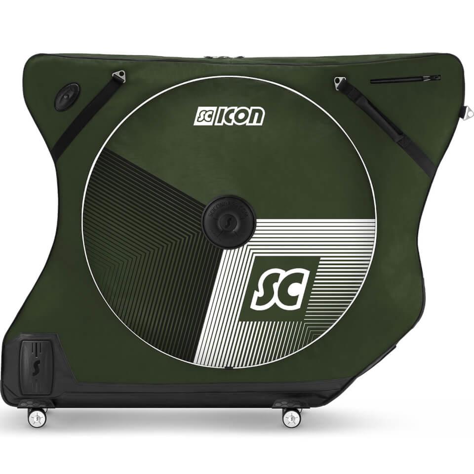 Scicon AeroComfort Road 3.0 TSA Bike Bag - Limited Edition - Stelvio - Racing Green | Bike bags
