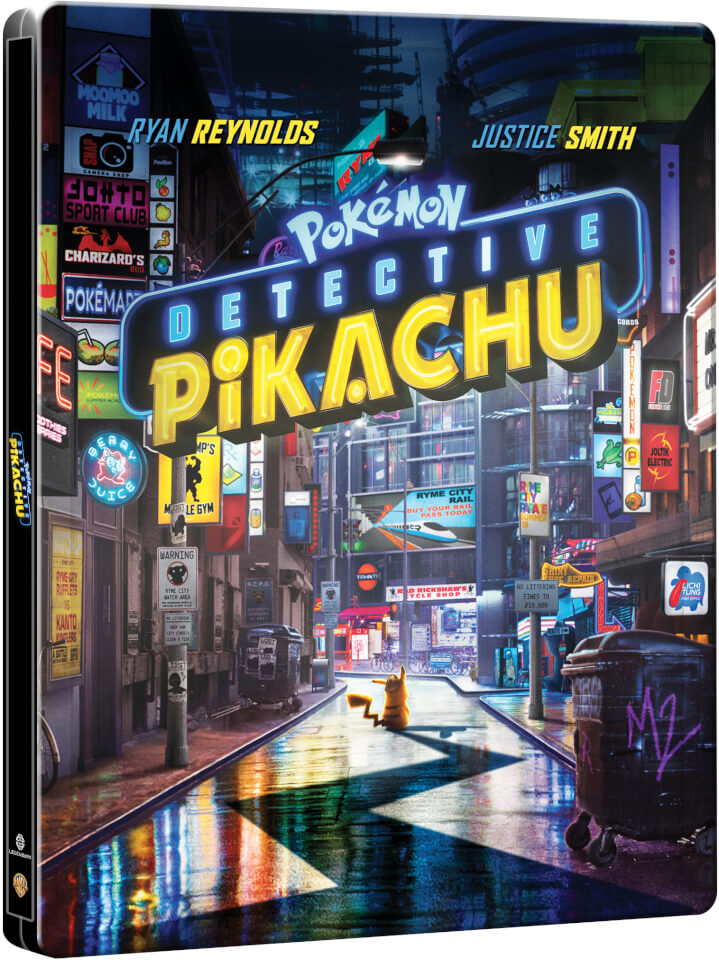Detective Pikachu – Limited Edition 4K Steelbook (Includes