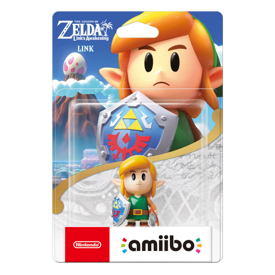 Use Accessories To Link Your Island To The Rest Of Your: Link Amiibo (The Legend Of Zelda: Link's Awakening