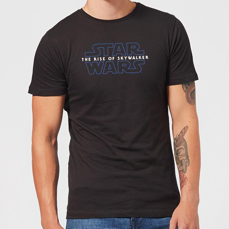 Star Wars The Rise Of Skywalker Logo Men S T Shirt Black Clothing Zavvi Uk