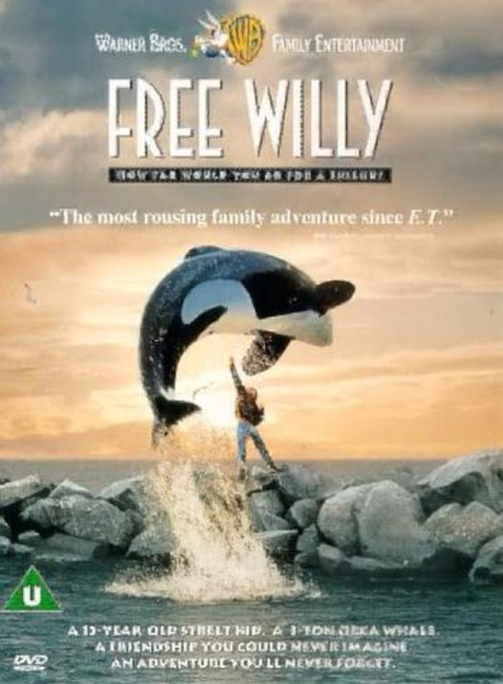 Free Willy Dvd Zavvi