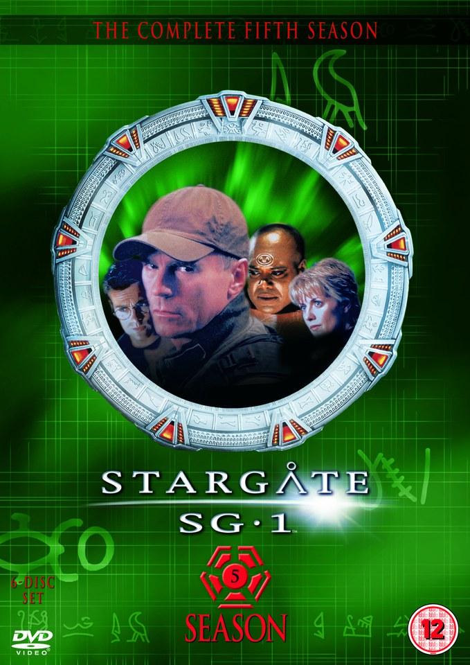 Stargate Sg 1 Season 5 Box Set Dvd Zavvi
