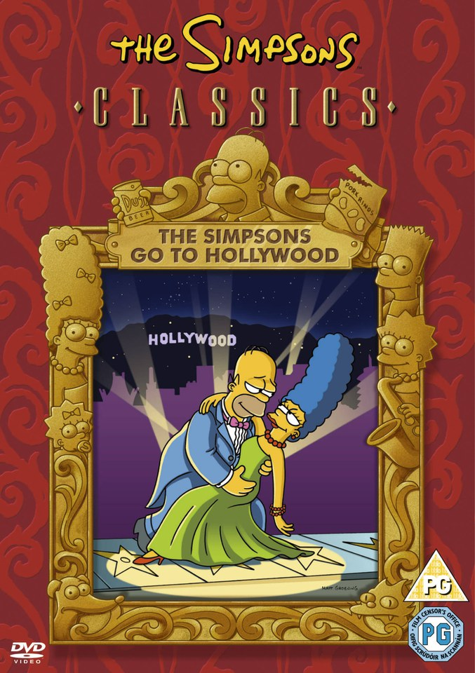 Simpsons: Go To Hollywood