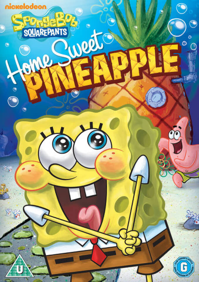 Spongebob Squarepants Home Sweet Pineapple Animated