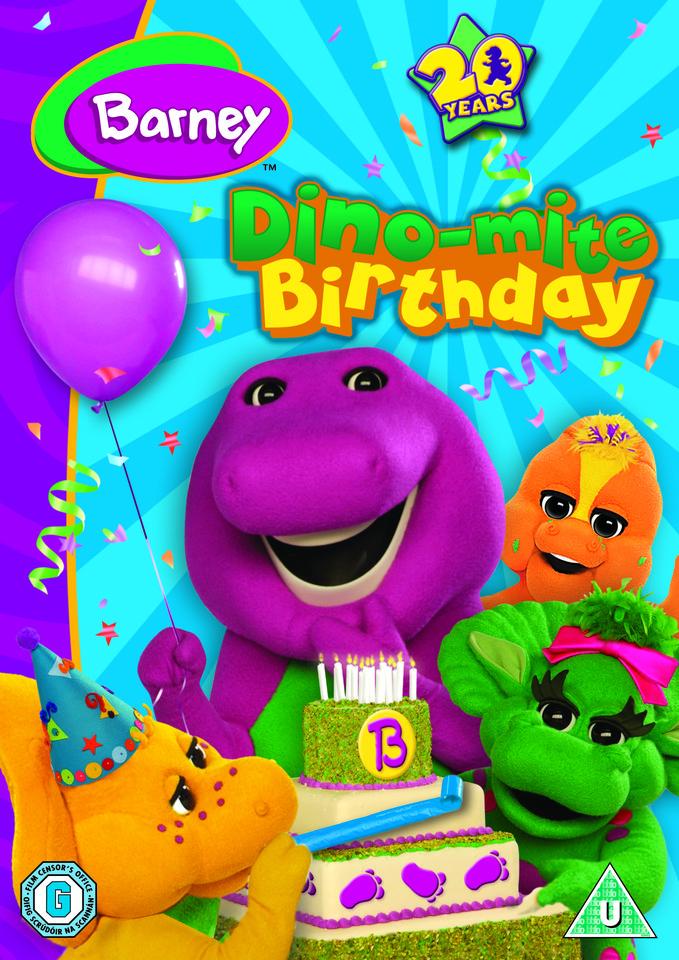 Barney - Dino-Mite Birthday DVD | Zavvi