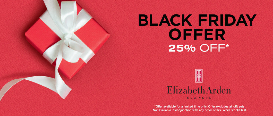 Black Friday 25% Off