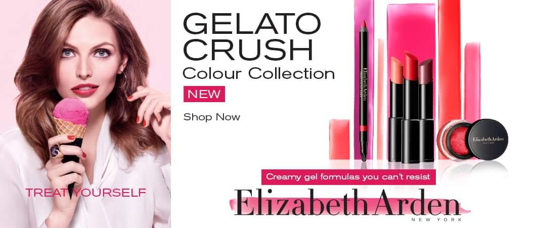 Gelato Crush Gel Formula makeup collection Elizabeth Arden