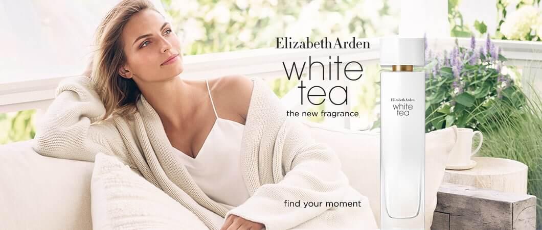 Elizabeth Arden White Tea Collection Header