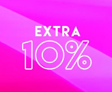 Extra 10% Off