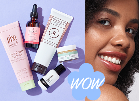 Discover bestselling skincare brands, including: PIXI, Sukin and The INKEY List.